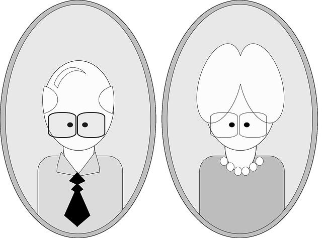 děda a babička