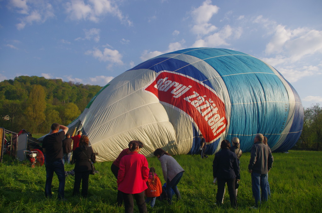 let balonem zažitek pro muže