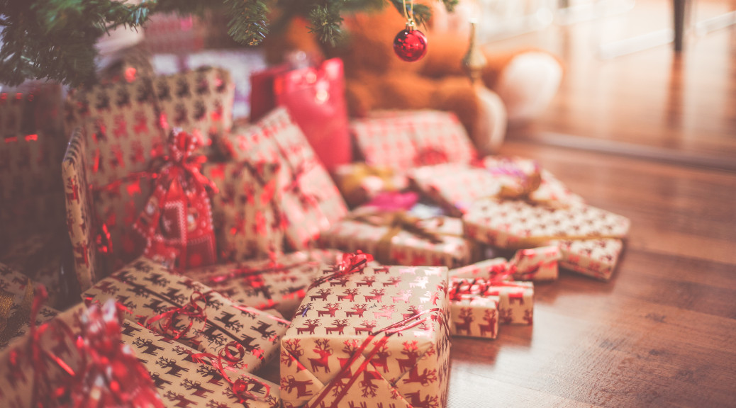 jak zabalit vánoční dárek
